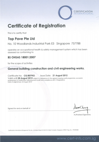 Company Profile – Top Pave